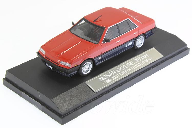 Hi-Story 1/43 日産 R30 スカイライン セダン 1984 2000 ターボ インテークーラー RS-X レッド