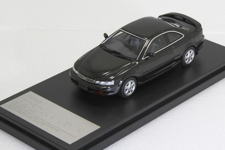 ハイストーリー 1/43 トヨタ カローラ レビン GT APEX 1991 ブラックメタリック AE101
