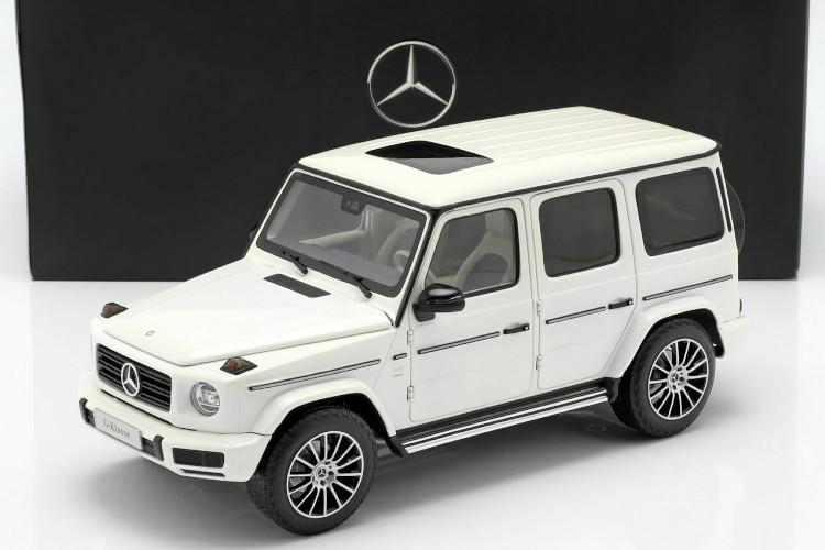 I Scale 1/18 メルセデス・ベンツ Gクラス W463 2015 ホワイト Mercedes-Benz G-Class (W463) polar white