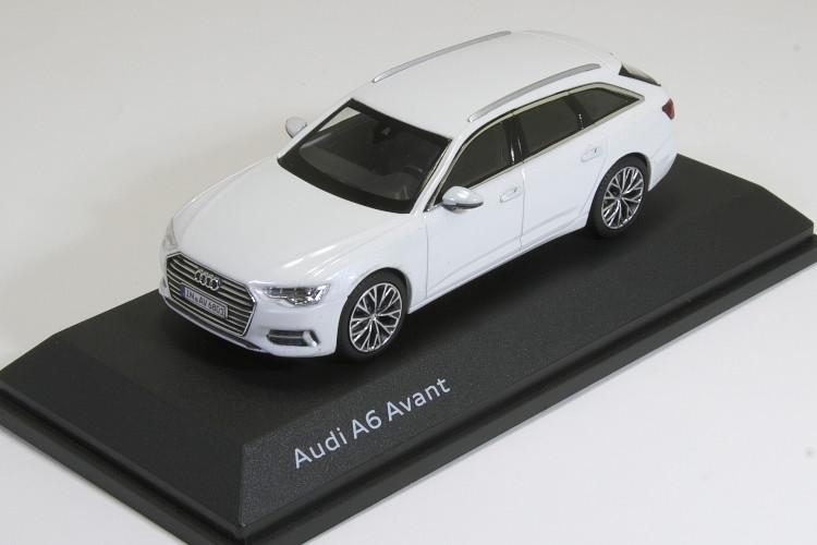 I-Scale 1/43 アウディ A6 アバント C8 2018 Audi A6 Avant Glacier White