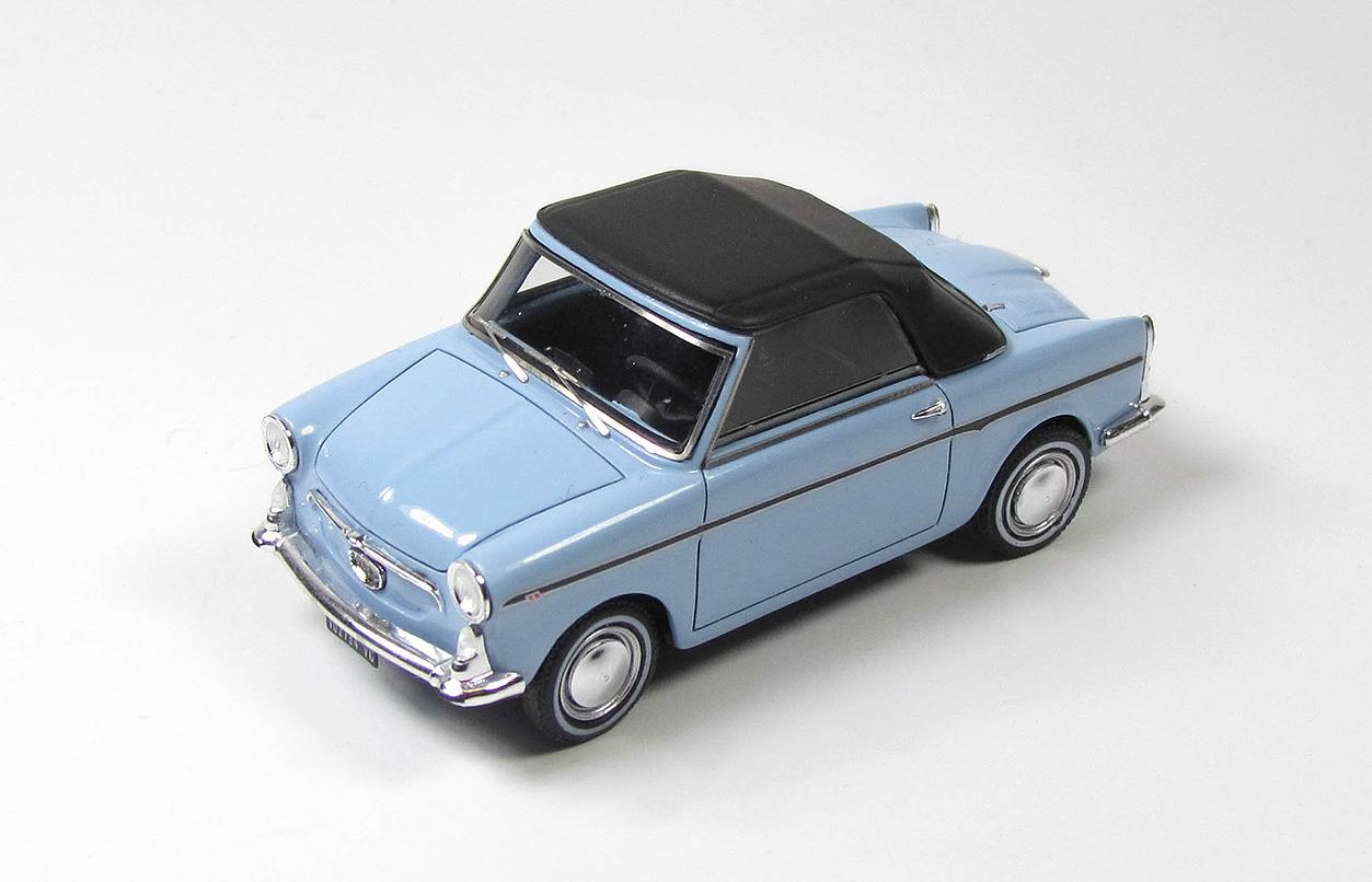 KESS 1/43 アウトビアンキ ビアンキーナ カブリオレ F クローズド 1965 ライトブルー AUTOBIANCHI - BIANCHINA CABRIOLET F CLOSED 1965 LIGHT BLUE LIMITED 175 ITEMS