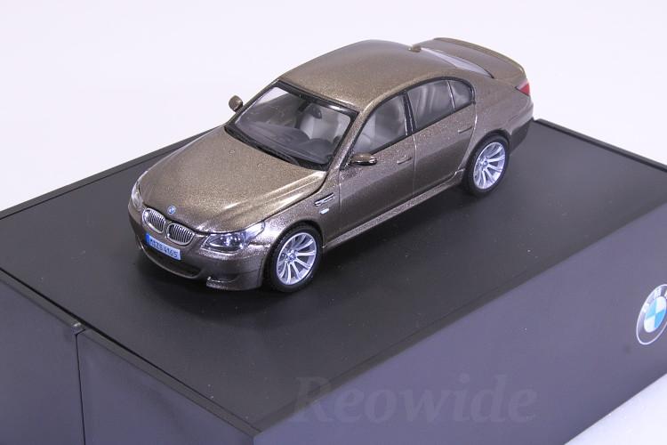 ディーラーボックス 2004-2007 Sammlermodell E60 M5 京商 BMW ブロンズ 1/43