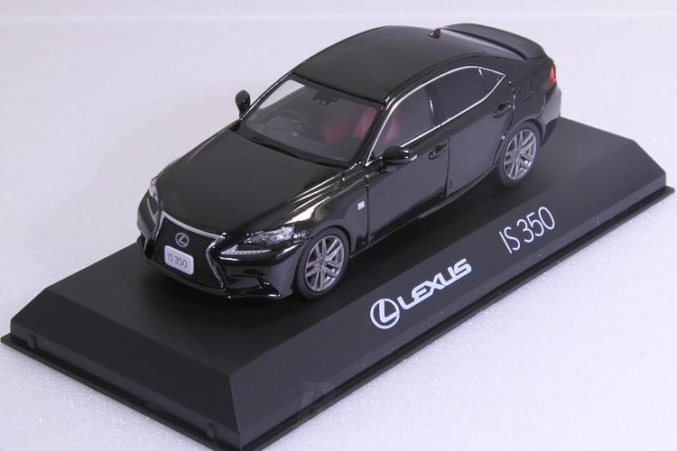 京商 1/43 レクサス IS 350 F SPORT ブラック Lexus IS350