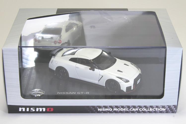 京商 1/43 日産 GT-R ニスモ R35 ブリリアントホワイトパール NISSAN NISMO Brilliant White Pearl
