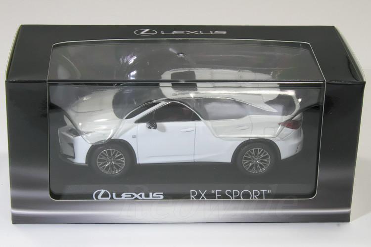 レクサス特注 京商 1/43 レクサス RX F SPORT ホワイトノーヴァガラスフレーク RX200t