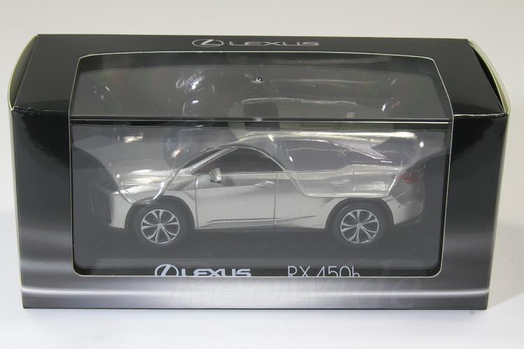 レクサス特注 京商 1/43 レクサス RX 450h シルバー RX450h