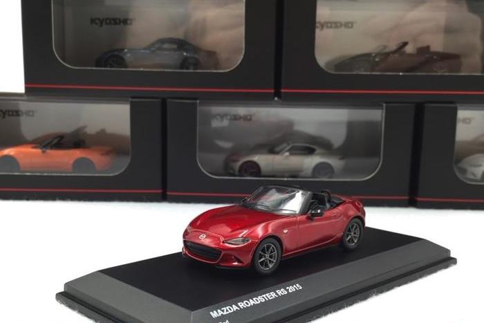 京商 1/64 マツダ ロードスター RS レッド Mazda Roadster Red