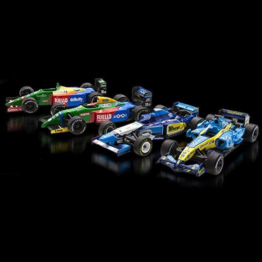 京商 1/64 Vol.4 4台セット ベネトン&ルノー Benetton Ford B189 Benetton Ford B190  Benetton Renault B195 Renault R26鈴鹿レジェンド SUZUKA KEGEND