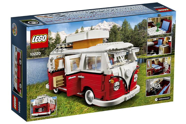 レゴ クリエイター フォルクスワーゲン T1 キャンパーヴァン LEGO® Creator VW Volkswagen T1 Camper Van Bulli red / white バス キャンピングカー