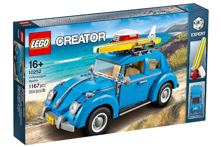 レゴ クリエイター フォルクスワーゲン ビートル LEGO Creator VW Käfer blue Beetle