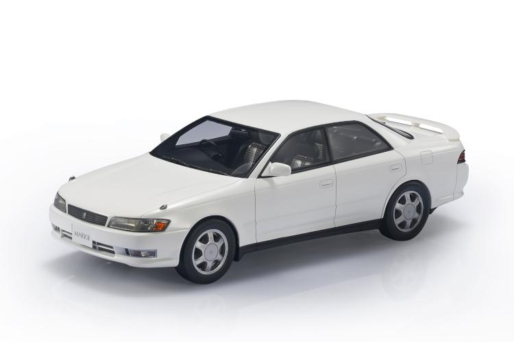LS-COLLECTIBLES 1/18 トヨタ マーク2 ツアラーV ホワイト 250台限定 Toyota JZX90 Mark ll Tourer V Super 白い 2019年12月発売 予約受付中