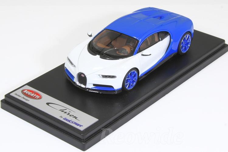 ルックスマート 1/43 ブガッティ シロン Bugatti Light Blue Sport / Glacier