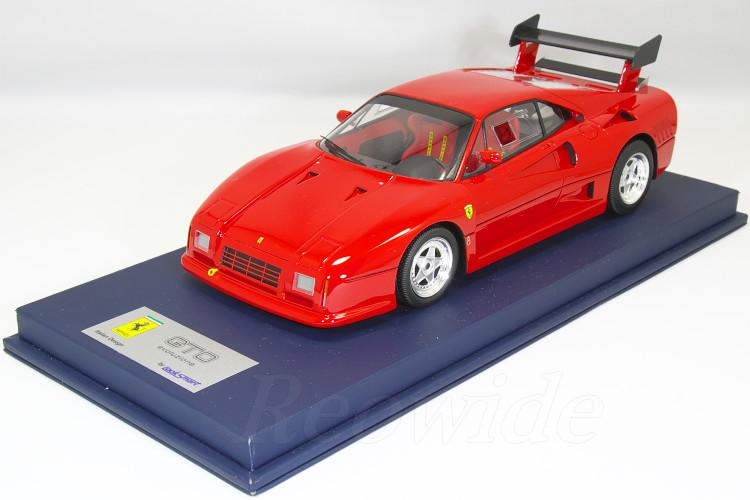 ルックスマート 1/18 フェラーリ 288 GTO エヴォルツィオーネ 1987 クロームホイール 199台限定 EVOLUZIONE