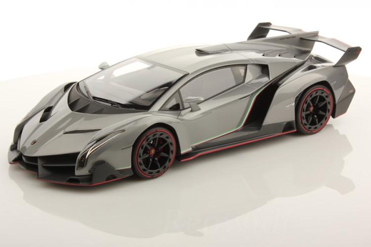 MR Collection 1/18 ランボルギーニ ヴェネーノ ジュネーブ・モーターショー 2013 ディスプレイケース付 Lamborghini Veneno