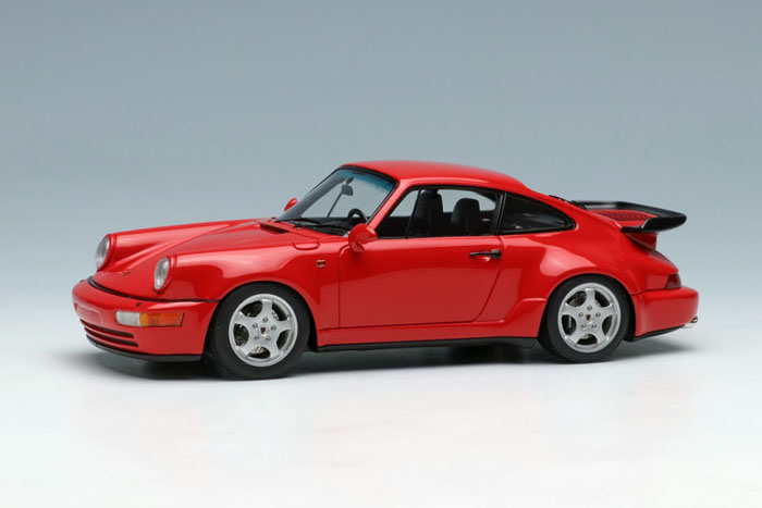 Makeup 1/43 ポルシェ 911 964 ターボ 3.3 1991 レッド Porsche Turbo Red