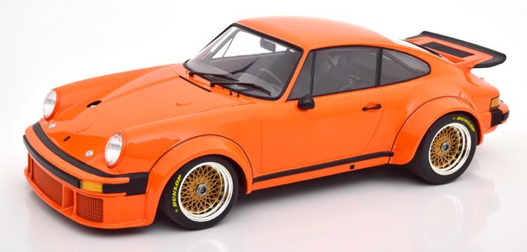 ミニチャンプス 1/12 ポルシェ 934 1976 オレンジ Porsche orange