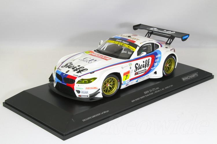 BMW 500台限定 GT3 1/18 チーム スーパーGT スタディ 2015 J.MULLER/S.ARA Trophy BMW Sports Z4 ミニチャンプス