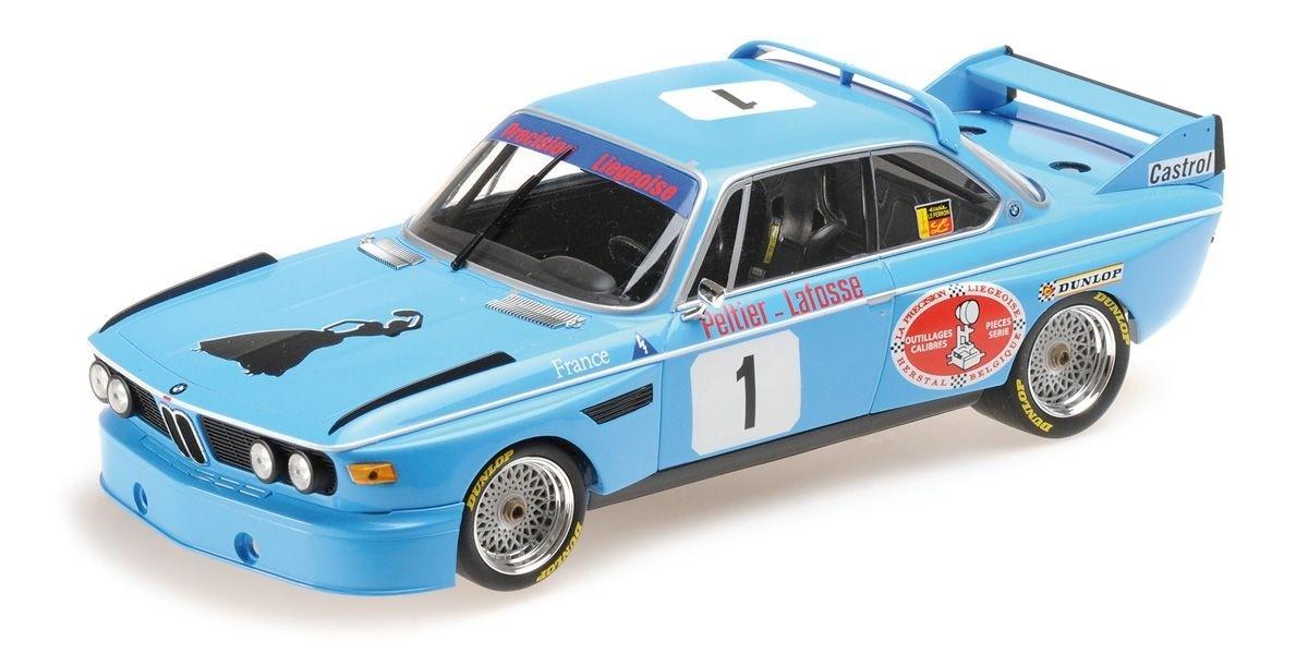 ミニチャンプス 1/18 BMW 3.0 CSL `PRICISION LIEGEOSE` #1 モンツァ 4h 1974 優勝車 winners
