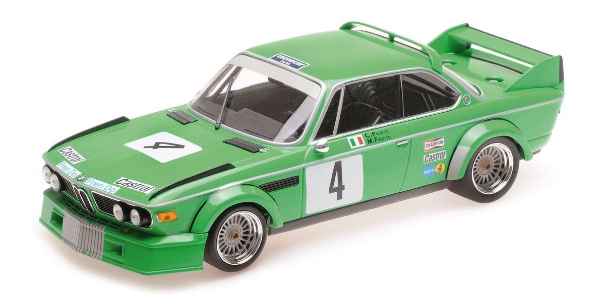 ミニチャンプス 1/18 BMW 3.0 CSL `JOLLY CLUB MILANO` #4 ETCC ZANDVOORT 1979 優勝車 WINNERS