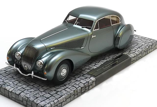 ミニチャンプス 1/18 ベントレー エンビリコス 1939 グレーメタリック 999台限定 Bentley Embiricos graumetallic Limited Edition 999 pcs