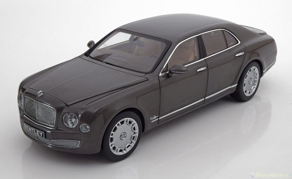 ミニチャンプス 1/18 ベントレー ミュルザンヌ ブロッガー 2010 グレーメタリック スペシャルエディション Bentley Mulsanne Brodgar グレーmetallic special edition of Bentley