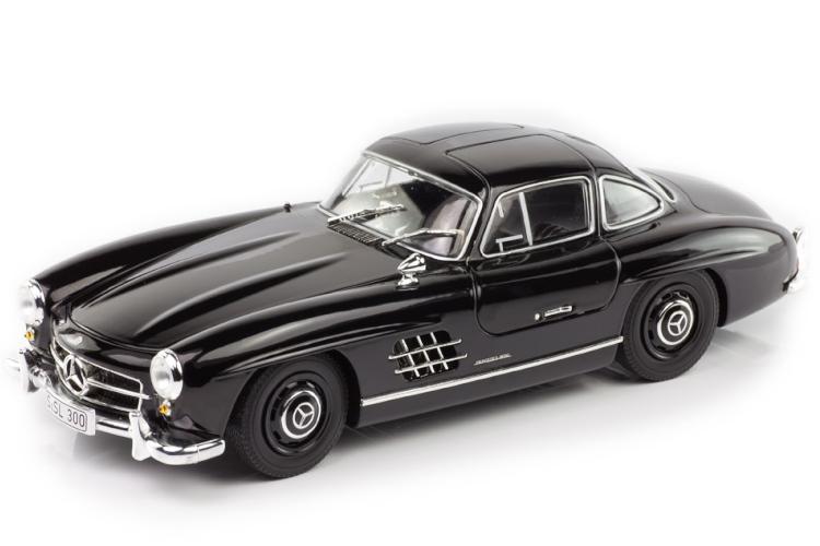 ミニチャンプス 1/43 メルセデス・ベンツ 300 SL ブラック Minichamps Mercedes-Benz 300SL Gullwing 1954 - 1957 W198