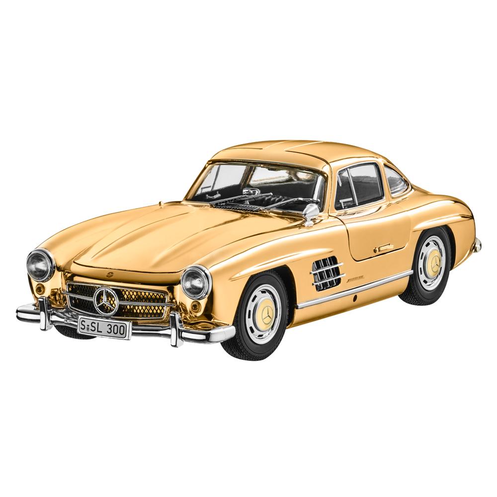 ミニチャンプス 1/18 メルセデスベンツ 300SL(W198) クーペ 1954 ゴールド MERCEDES BENZ - 300SL (W198) COUPE 1954 GOLD