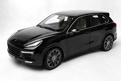 ミニチャンプス 1/18 ポルシェ カイエン ターボ S 2014 ブラック Porsche Cayenne Turbo S 2014 黒