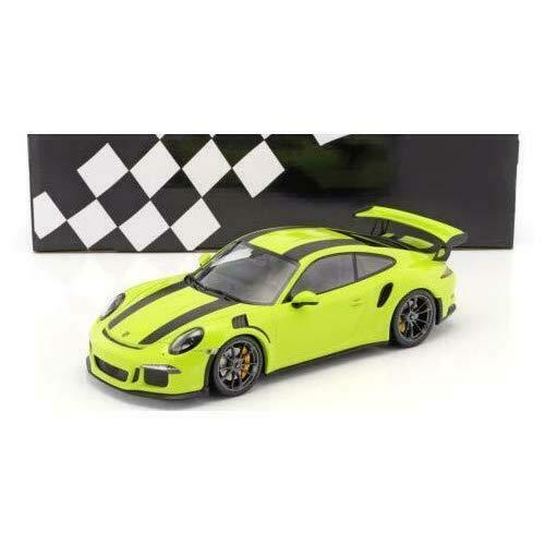 ミニチャンプス 1/18 ポルシェ 911 GT3 RS type 991 Mk 1 2015 ライトグリーン porsche light green
