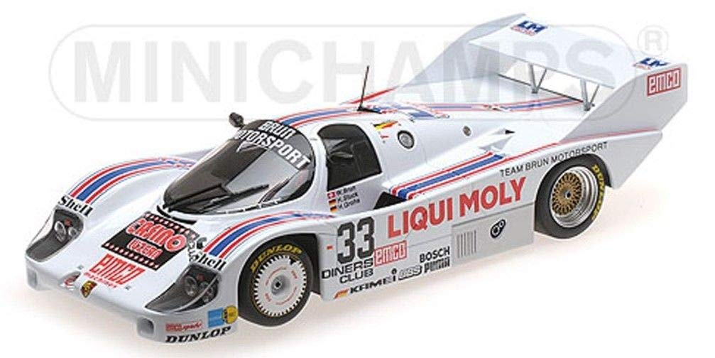 ミニチャンプス 1/18 ポルシェ 956 K 1000 km Spa 1983 #33 Brun Racing porsche