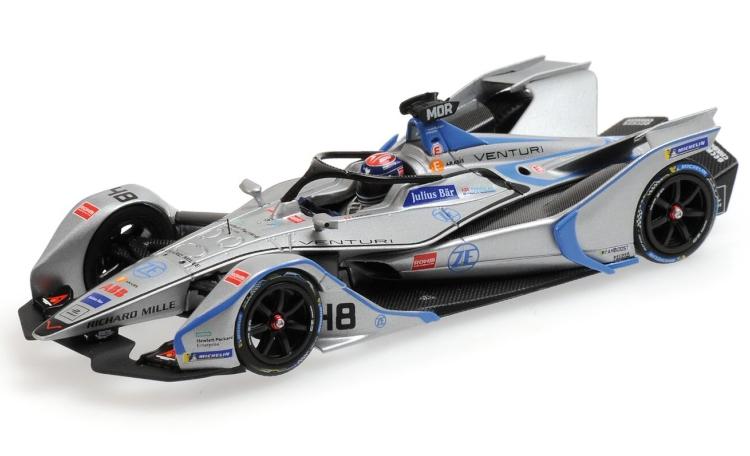 ミニチャンプス 1/43 Edordo Mortara Venturi VFE05 #48 フォーミュラEシーズン5 2018/19 formula E season 5