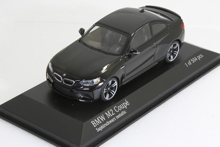 ミニチャンプス 1/43 BMW M2 クーペ F87 2016 ブラック・メタリック BMW M2 Coupe year 2016 black metallic