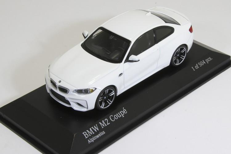 ミニチャンプス 1/43 BMW M2 クーペ F87 2016 ホワイト BMW M2 Coupe year 2016 White