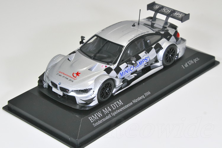 1/43 Minichamps BMW M4 DTM Nuremberg and at 2016 576 limited edition
