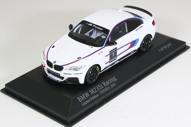 ミニチャンプス 1/43 BMW M235i レーシング 香港 TOYSOUL 2015 96台限定 2シリーズ