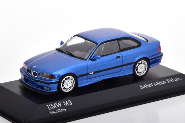 ミニチャンプス 1/43 BMW M3 E36 クーペ 1992 ブルーメタリック 500台限定 Coupe bluemetallic Limited Edition