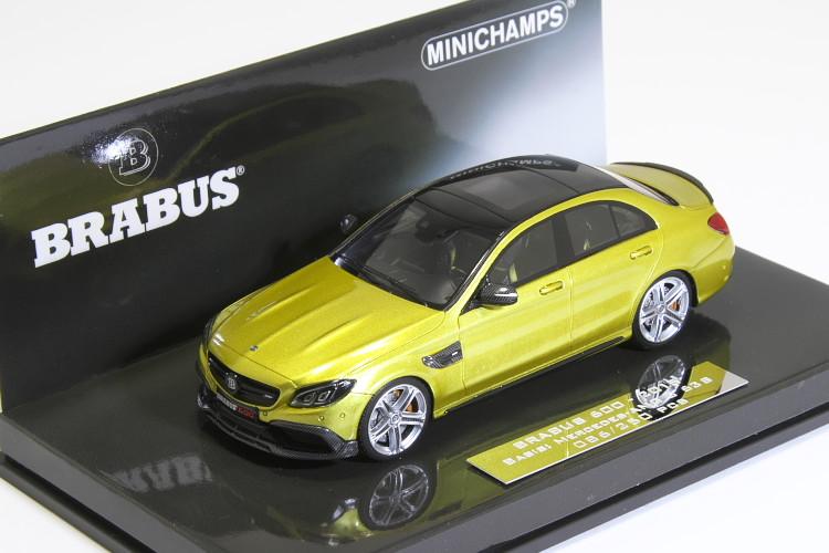 ミニチャンプス 1/43 ブラバス 600 AUF BASIS メルセデス・ベンツ C63 S 2015 ゴールド 250台限定 BRABUS 600 AUF BASIS Mercedes-AMG