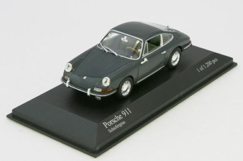 <中古品>ミニチャンプス 1/43 ポルシェ 911 1964 Minichamps Porsche Grey
