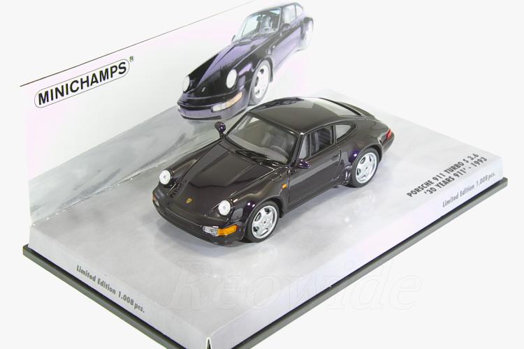 ミニチャンプス 1/43 ポルシェ 911 (964) ターボ S 3.6