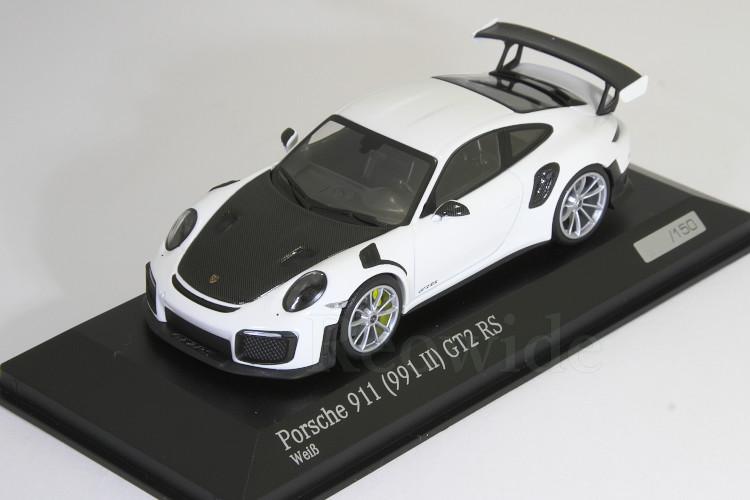 【当店限定販売】 ミニチャンプス 1/43 ポルシェ 911 911 (991-2) 911 GT2 RS 2017 RS ホワイト/ブラック 150台限定 Porsche 911 (991 II) GT2 RS, 新川町:569f34df --- kventurepartners.sakura.ne.jp
