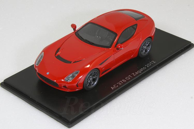 ネオ 1/43 AC 378 GT ザガート レッド 2012