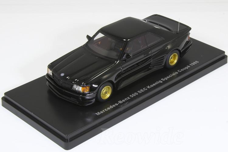 ネオ NEO 1/43 メルセデス・ベンツ 500 SEC ケーニッヒ 1985 ブラック 500 SEC Koenig Specials Coupe