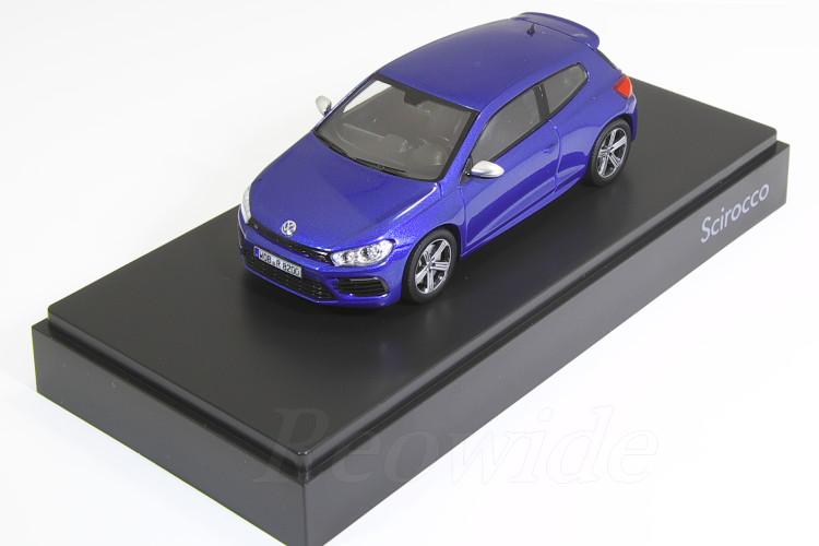 ノレブ 1/43 VW シロッコ R 2009 ブルー VW 海外ディーラー特注