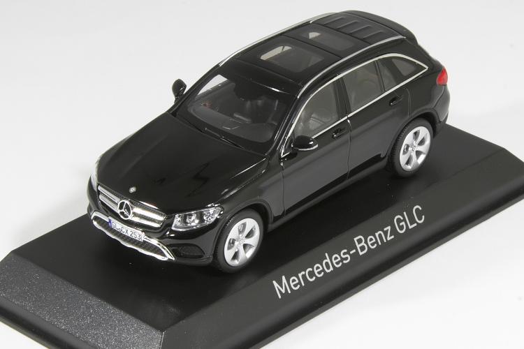 ノレブ 1/43 メルセデス・ベンツ GLC クラス X253 2015 ブラック GLC-Class