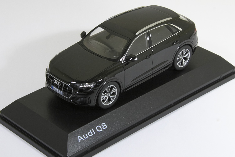 競売 ノレブ 1 2018/43 アウディ Tdi Q8 ブラック 2018 Audi ノレブ Q8 V8 Tdi Quattro 2018 Orca Black, 日本製ショーツ下着のMaruki:af1c586e --- canoncity.azurewebsites.net