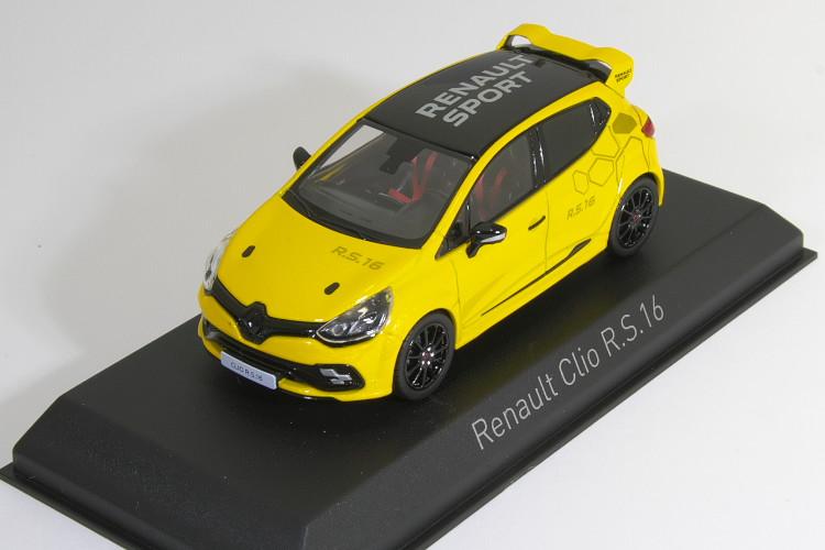 ノレブ 1/43 ルノー クリオ R.S. 16 2016 オレンジ Renault Clio