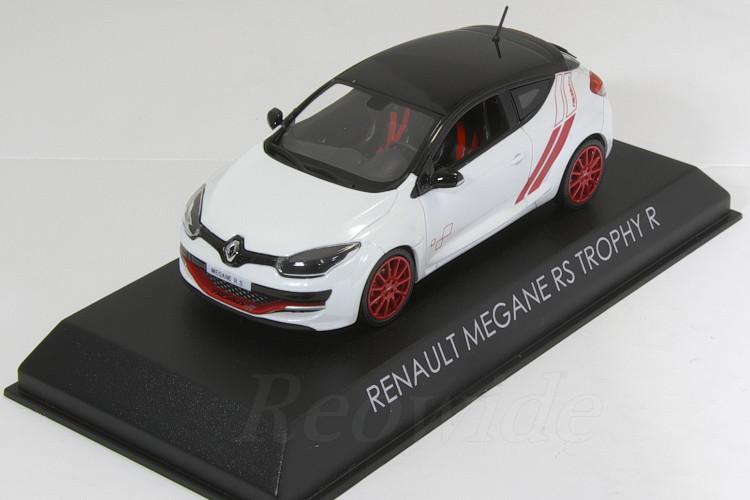 Megane ホワイト ノレブ nurburgring ルノー R Trophy Renault R ニュルブルクリンク RS メガーヌ RS 1/43 トロフィー
