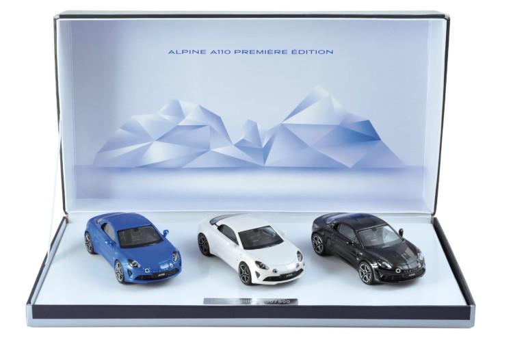 ノレブ 1/43 ルノー アルピーヌ A110 2017 3台セット 500台限定 Renault A110 premiere edition 2017