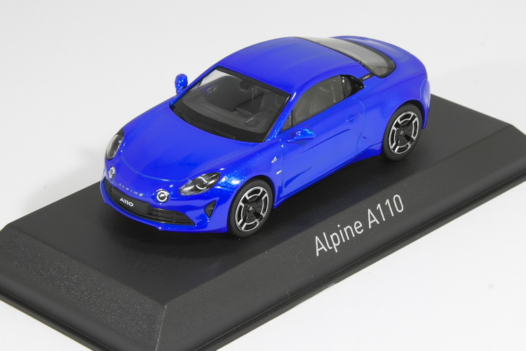 Alpine Blue Norev 517865 Alpine A110 Légende 2018