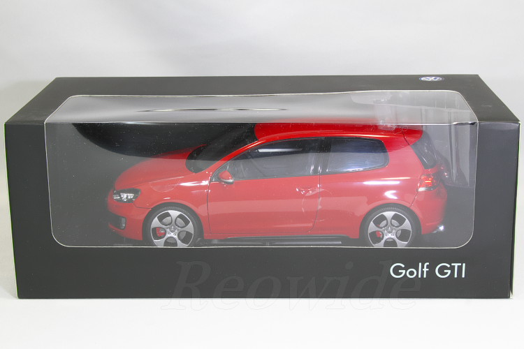 VW特注 ノレブ 1/18 VW ゴルフ GTI 6 MK6 レッド 開閉式